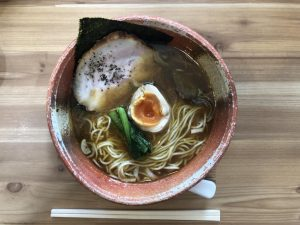 軽井沢あってり麺にぼし味