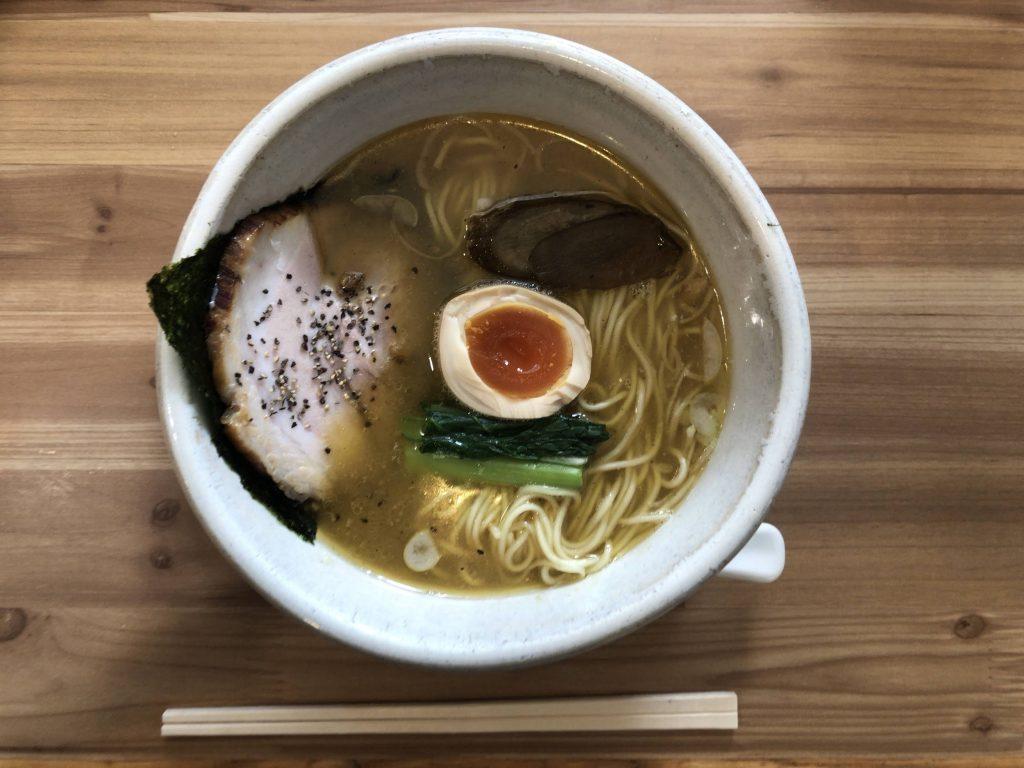 軽井沢あってり麺しお味