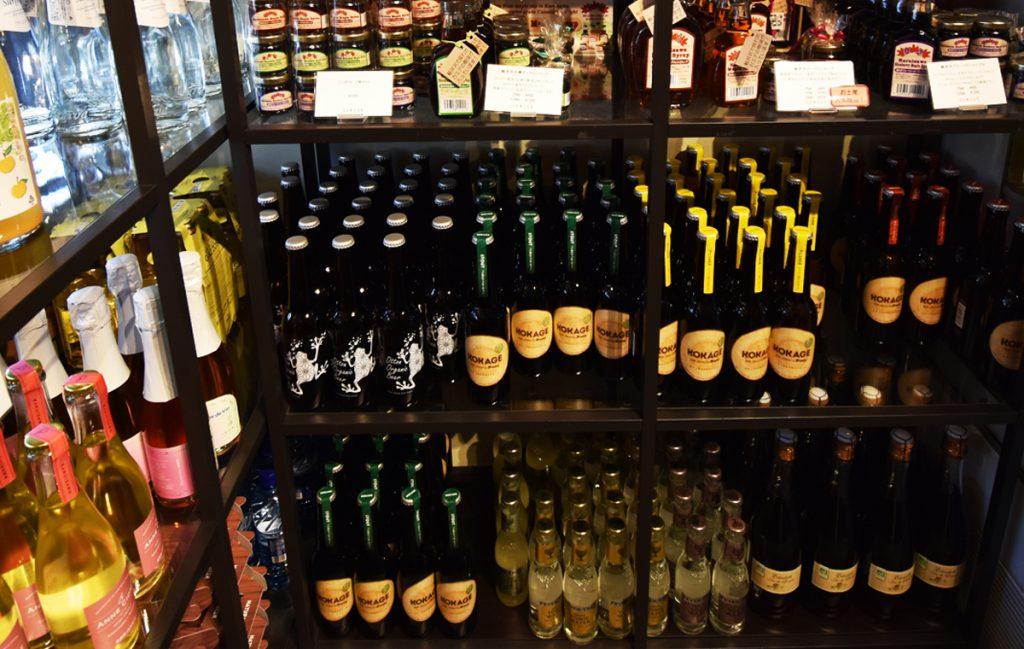 地ビールや地酒の種類も豊富