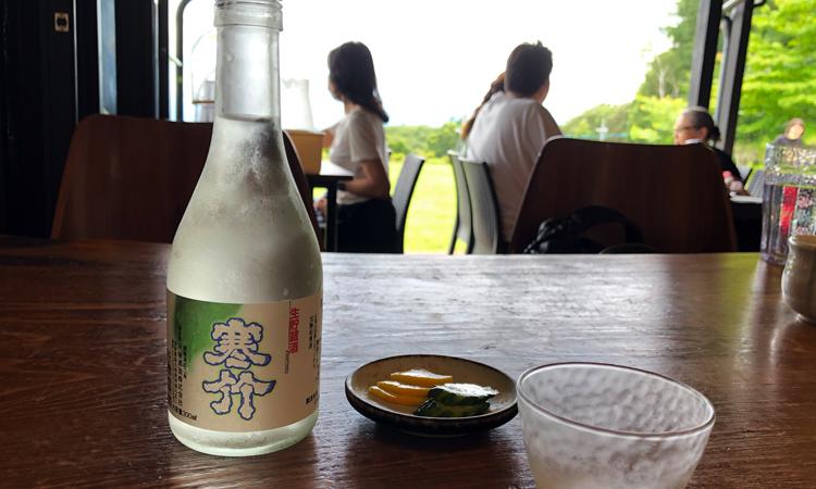 佐久市戸塚酒造店が造る「寒竹」