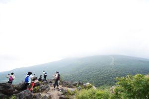 小浅間山のやまびこスポット