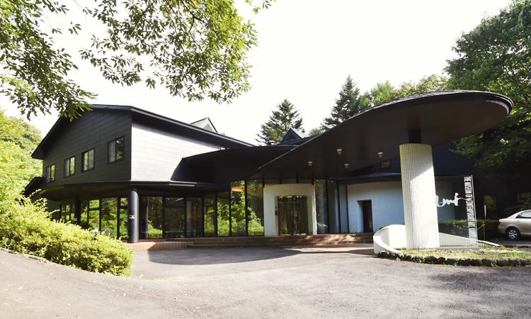 軽井沢現代美術館外観